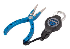 "Photo of 6"" Fishing Pliers with Retractable Gear Tether"