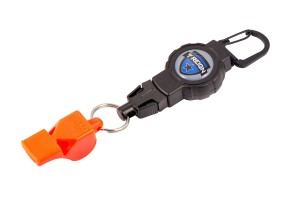 Photo of Retractable Gear Tether with Safety Whistle