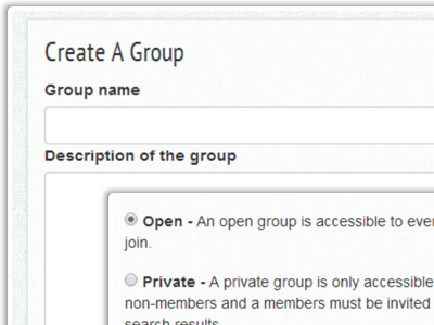 Create or Join a Group