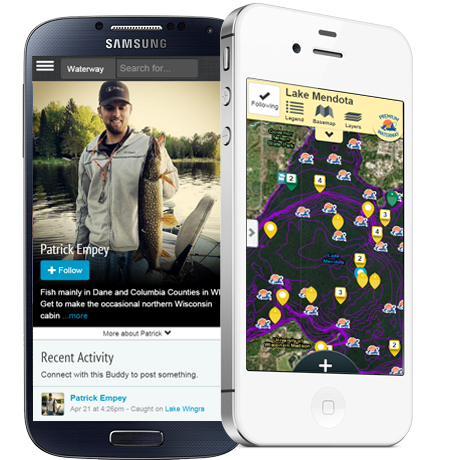 A photo of Fishidy on an Android and iOS device