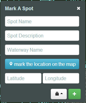 Mark spots we don't have in our system